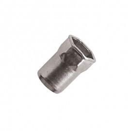 nitonakrętki sześciokątne - stal nierdzewna a2 - kołnierz stożkowy mini 90°