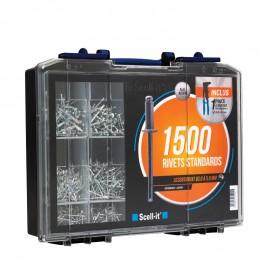 coffret 1500 rivets standard