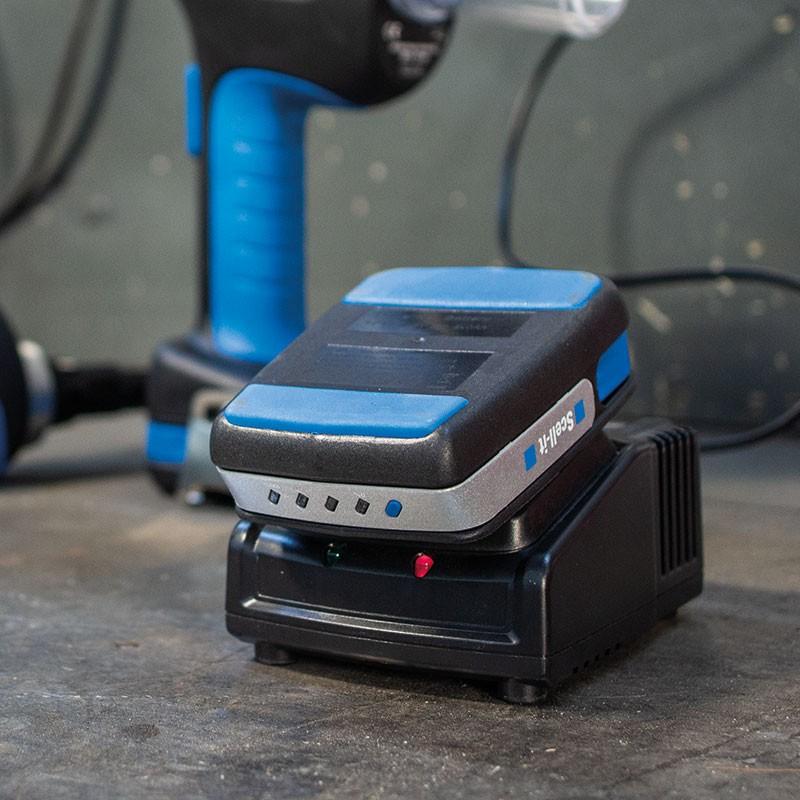 Riveteuse sur batterie pour rivets étoilés Ø5,2 - 7,7 mm